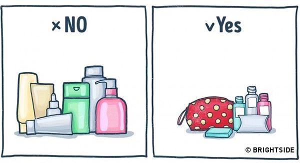 10 thứ không nên mang quá nhiều khi đi du lịch